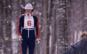 Josep Giró, en su participación en los Juegos de Invierno de Lake Placid 1980.