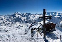 El Mont Fort preside los Cuatro Valles y su descenso es uno de los más codiciados.