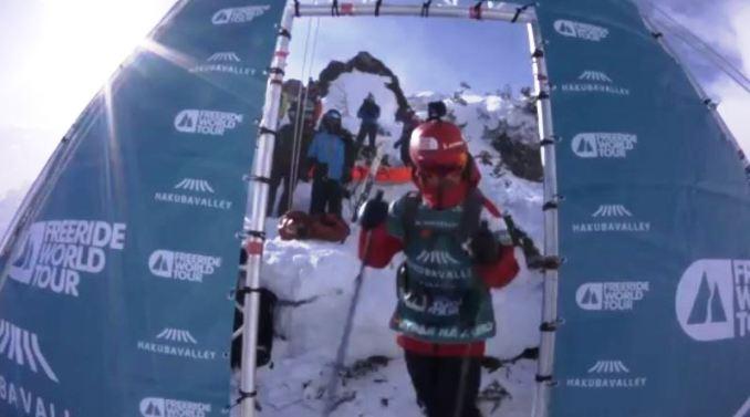 Vídeo de Aymar Navarro, en la salida de la prueba de Japón