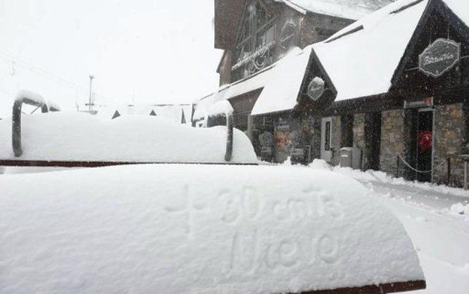 La nieve de las delicias