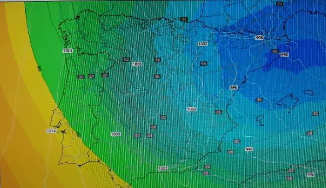 El tiempo será cada vez más frío en toda la Península