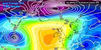 La retirada del anticiclón dará paso a una entrada de vientos muy fríos del NNE