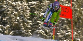 Ilka Stuhec ha revalidado su título de campeona del mundo de descenso hoy en Are.