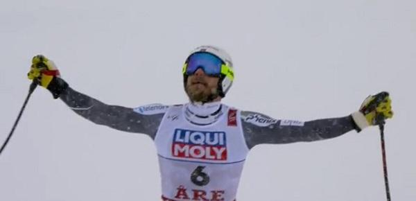 Primer oro para Jansrud en un Mundial.