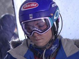 Mikaela Shiffrin prefiere reservarse en este final de temporada.