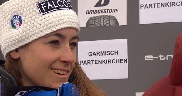 Sofia Goggia llega con pocas carreras pero es capaz de todo.