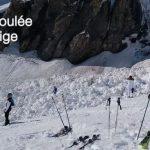 La avalancha de 800 metros de largo por 100 de ancho cubrió entre 300 y 400 metros de la pista de Crans Montana