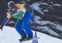 Astrid Fina en competición