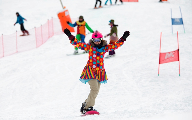 Los atuendos carnavalescos compartirán pista con el esquí y el snow en las pistas del Pirineo