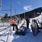 La estación ha comenzado a montar las gradas para las finales de la Copa del Mundo de Andorra 2019