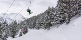 Un vista de Cerler esta semana tras las nevadas