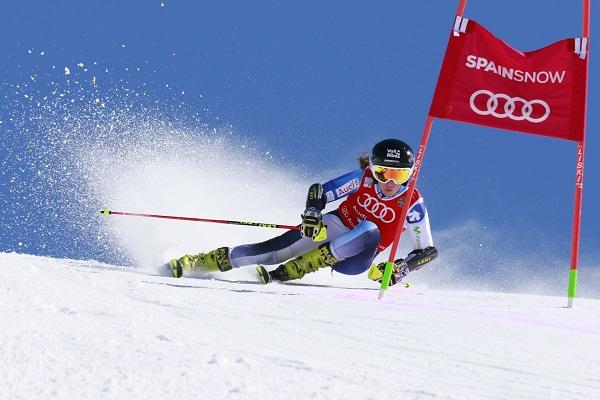 Núria Pau tratará de irse de Baqueira con un triplete ganando mañana el slalom, disciplina en la que defiende título. FOTO: Anna Tur