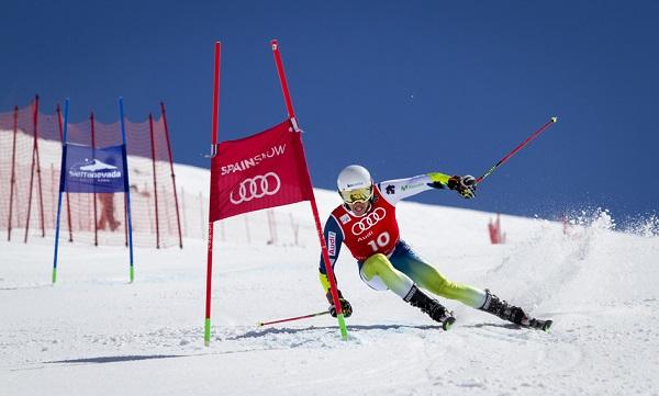 Juan del Campo disputará los Nacionales absolutos de esquí alpino en Baqueira. FOTO: ©Alejandro Molina