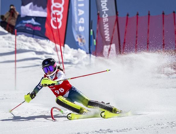 Núria Pau, campeona de España de super G. FOTO: ©Alejandro Molina
