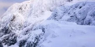Ben Nevis se ubica al noroeste de Escocia