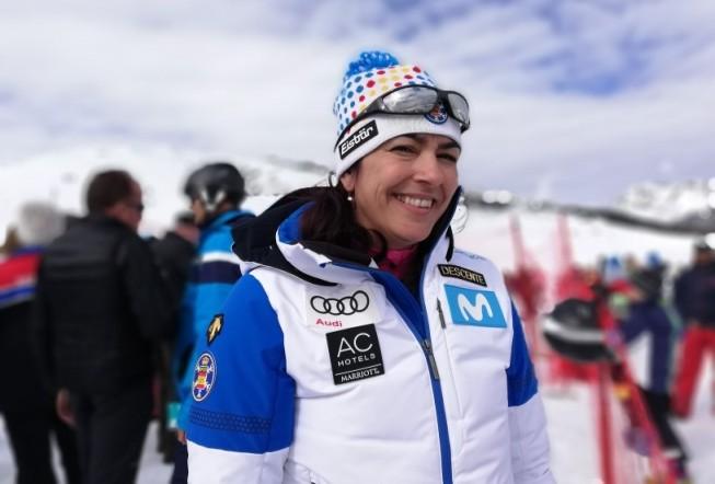 Rienda asistió a la Copa del Mundo de snowboard croos de Baqueira Beret