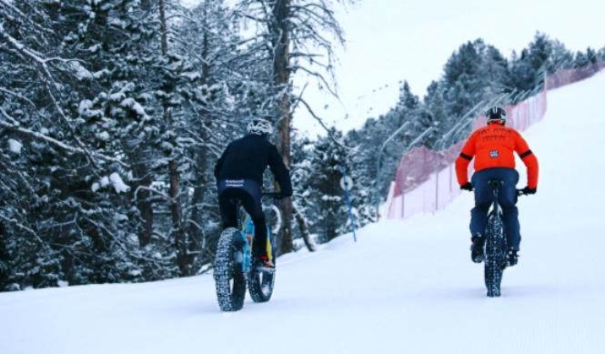 Las bicicletas de nieve serán protagonistas el fin de semana gracias al Snow Bike