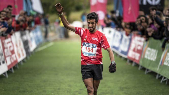 Zaid Ait Malek, a su entrada en meta