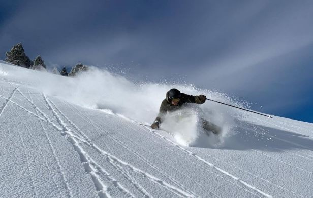 La calidad de la nieve es destacable en Baqueira Beret