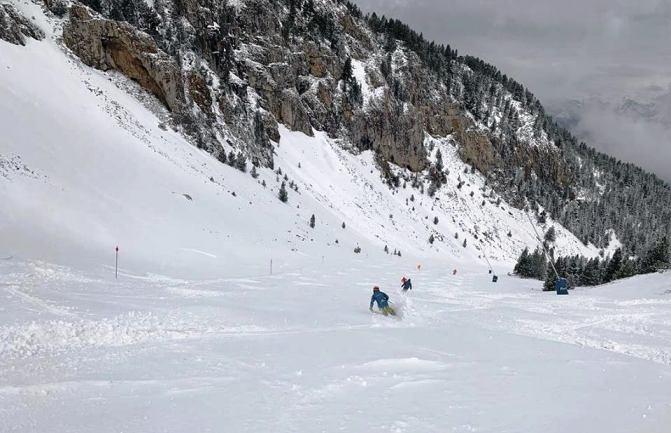 El centro posee nieve de calidad invernal