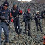 Una imagen del rescate de los Andes