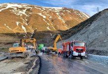 Los Bomberos de Andorra han participado en las tareas
