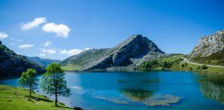 Vista de los Lagos de Covadonga