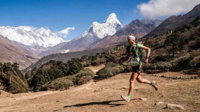 Manu Vilaseca, en la edición de 2018. Ian Corless Everest Trail Race