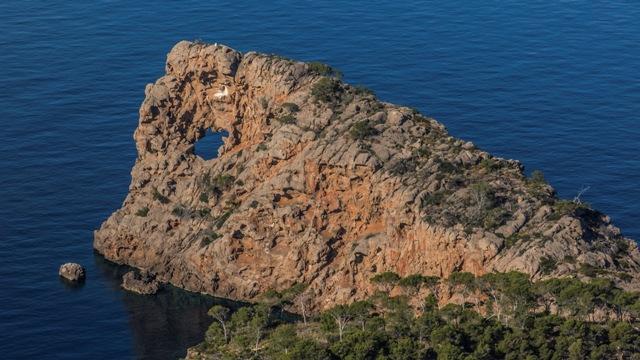 Imagen de sa Foradada, en Mallorca