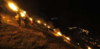 La tradicional fiesta de las fallas tiene un elemento purificador