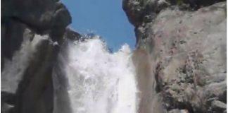 Una vista del barranco Estriviella