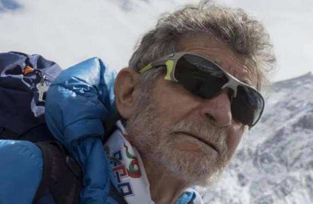 El alpinista abulense volverá a la séptima cima más alta del planeta a finales de agosto