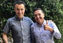 Javier Ocaña junto al May Peus, presidente de la RFEDI