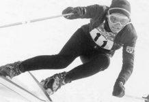El campeón olímpico en acción